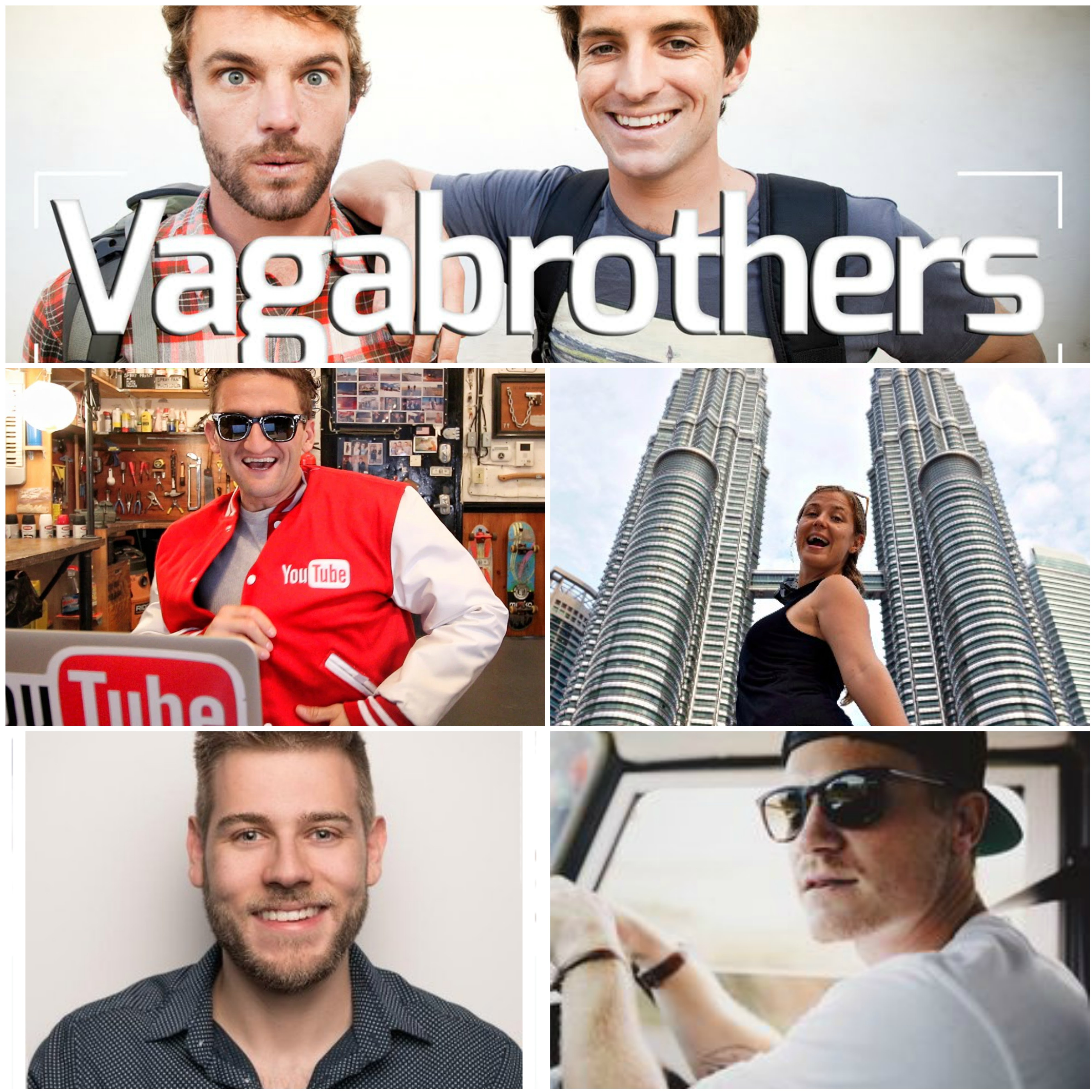 The Top 5 Digital Nomad YouTube Vloggers