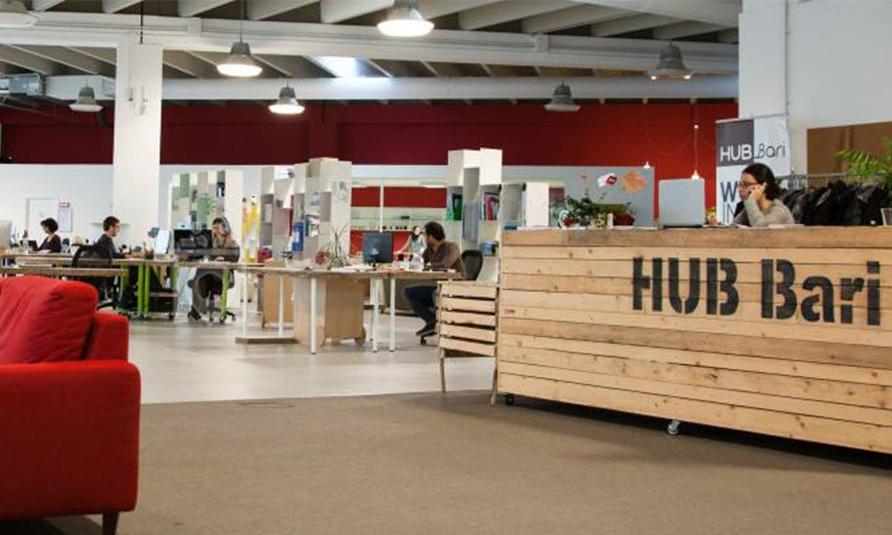 unique coworking space in italy -Impact Hub Bari