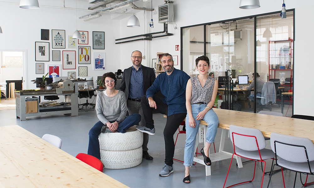 unique coworking space in italy - Lino's and Co